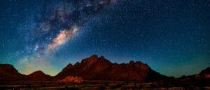 Milky Way, Namibie