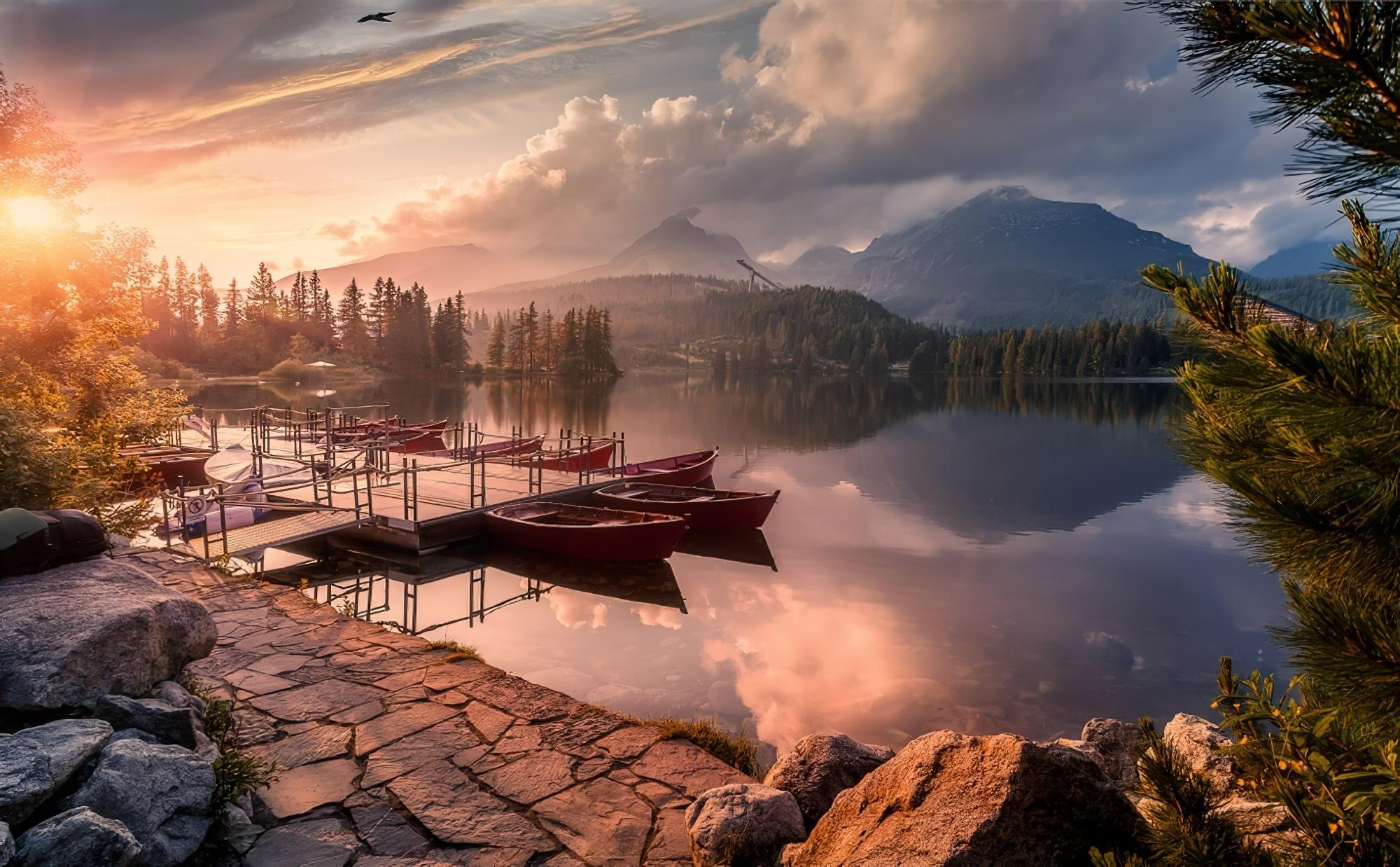 Tatras Slovaquie lac