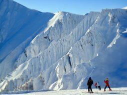 faire du ski dans les Alpes en autriche beaux paysages