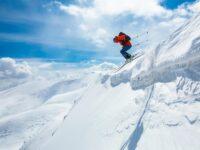 ski freeride dans les Alpes