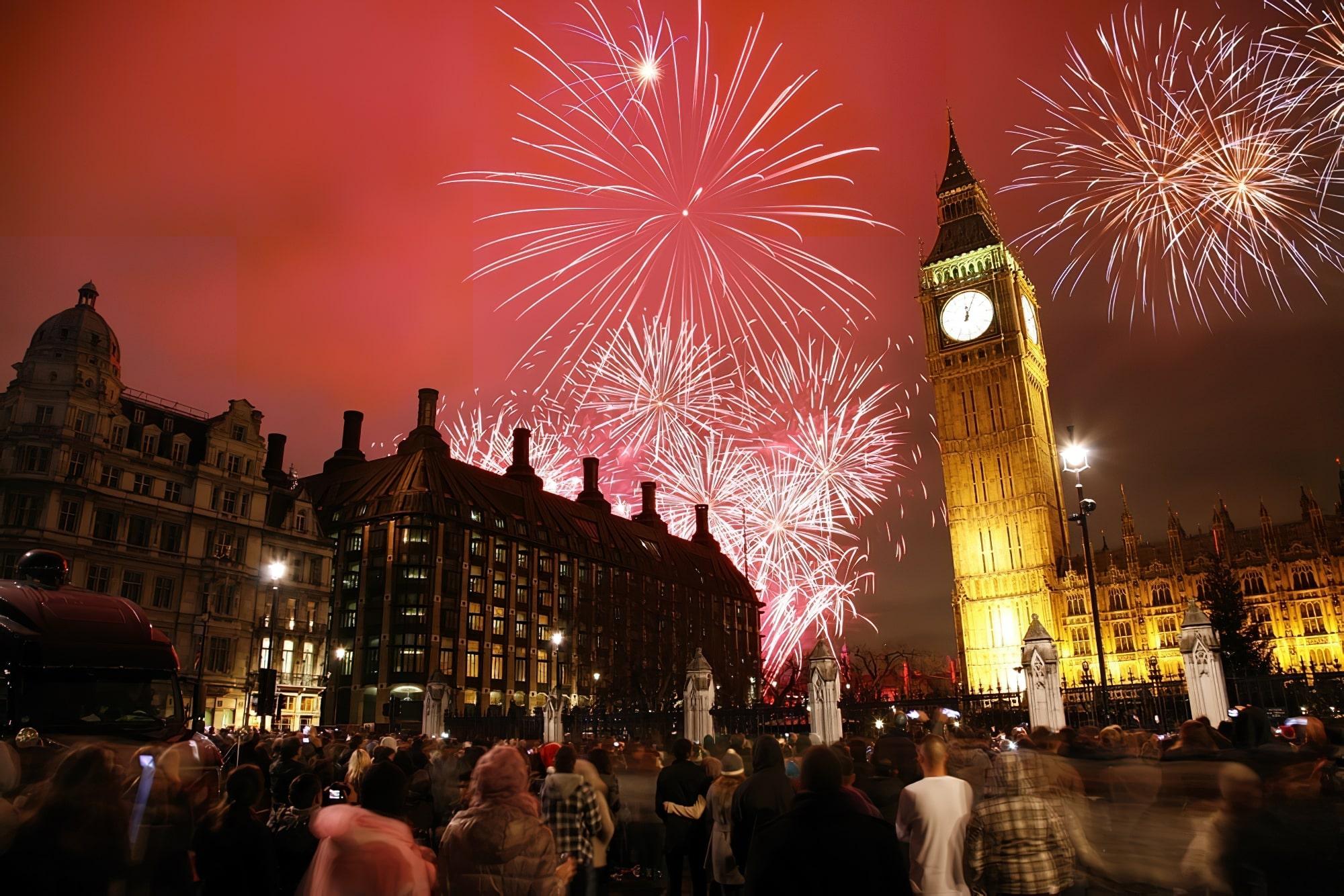 Les 13 meilleures destinations d'Europe où fêter le Nouvel An