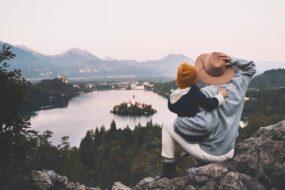 2020 voyager en slovenie paysage lac pere et fils