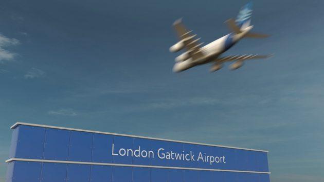 londres gatwick aeroport