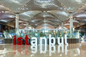 Où dormir près de l'aéroport d'Istanbul ?