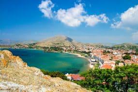 Vue sur Myrina, Lemnos