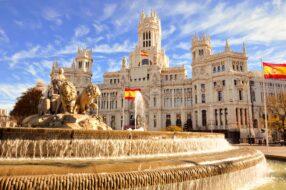 Fontaine Cibeles, Madrid