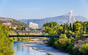 Panorama de Podgorica