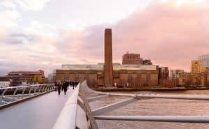 Tate Modern au coucher de soleil, Londres
