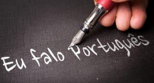 je parle portugais