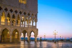 Palais des Doges et place St Marc, Venise