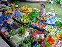 Découvrez les meillleurs marchés flottants de Bangkok