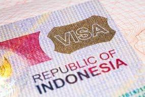 Visa Bali, Indonésie