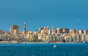 Vue sur Alexandrie, Egypte