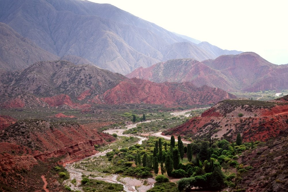 Route 40 du désert, Argentine