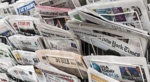 journaux britanniques et américains