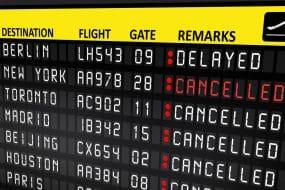 Que faire si mon vol est annulé à cause de la météo ?