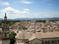 Vue sur Montélimar depuis le Château des Adhémar