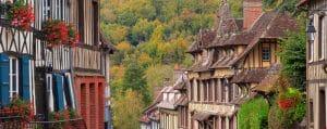 Plus beaux villages de Normandie : Lyons-La-Forêt