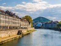 Visiter Besançon : Quai Vauban
