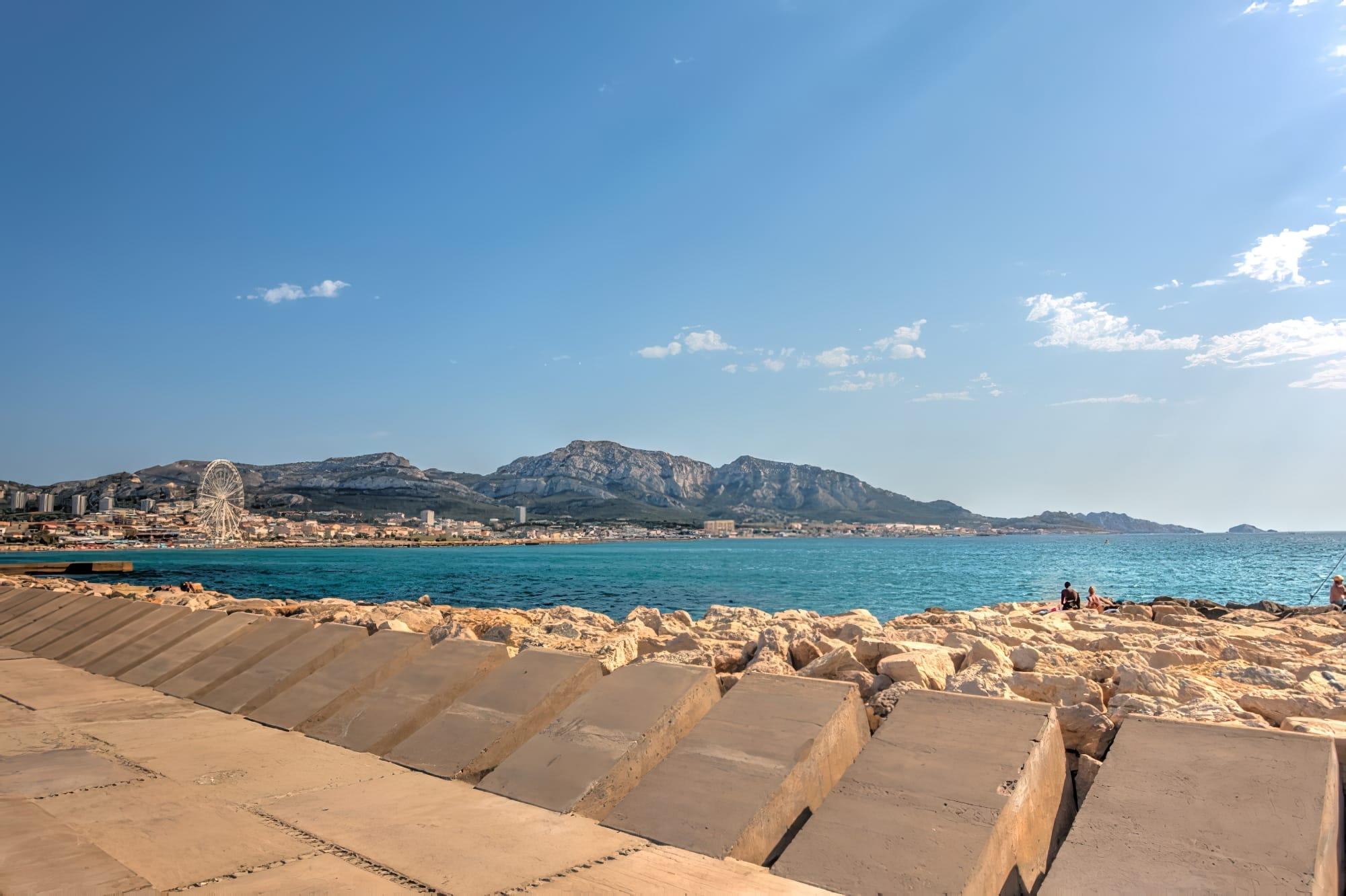 Les plages de Marseille - Mise en avant