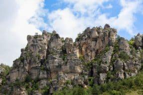 Via ferrata dans les Gorges du Tarn : spot de Liaucous