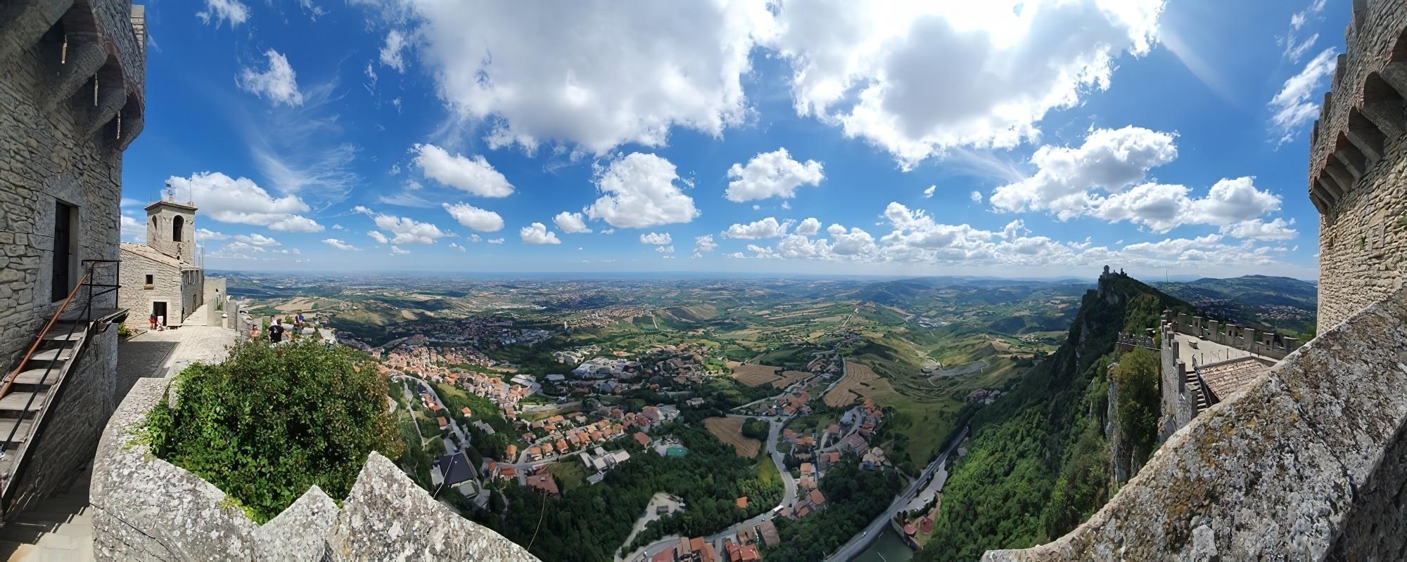 Panorama de Saint-Marin