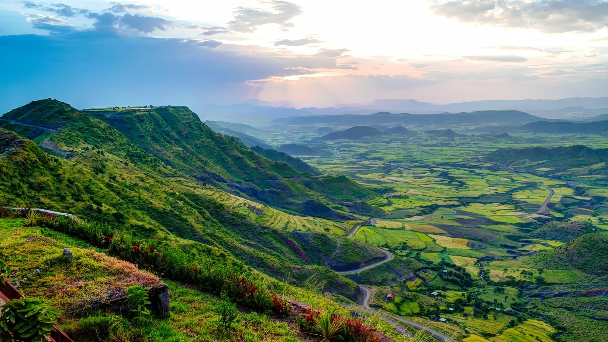 Ethiopie - Vallée de Simien
