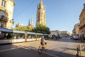 Bordeaux centre-ville et cathédrale Saint-Pierre
