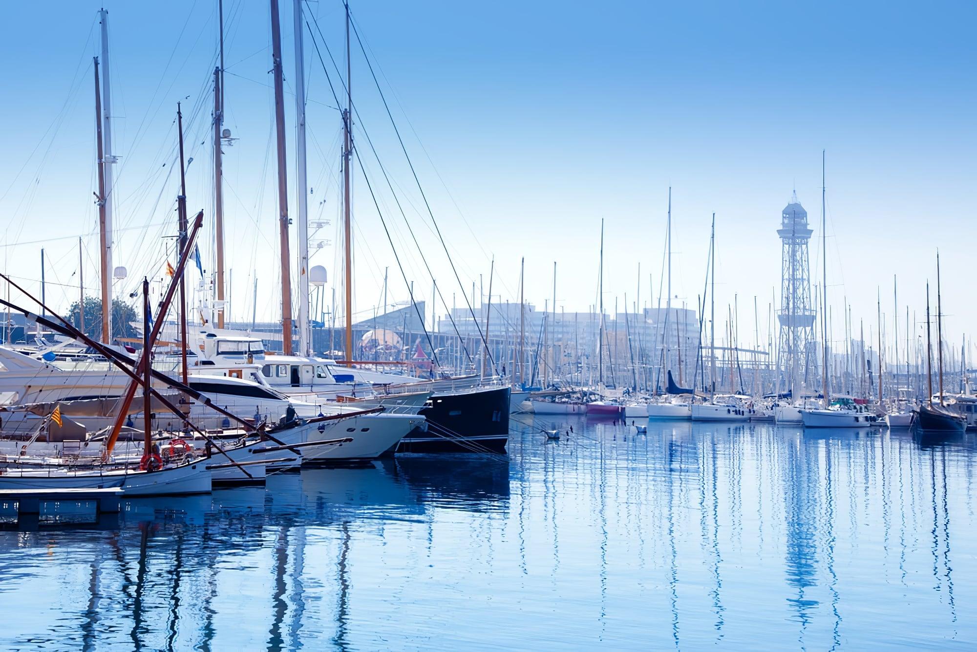 grands ports monde : Barcelone