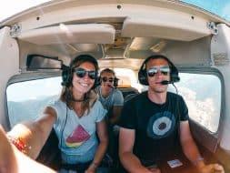 Balade en avion