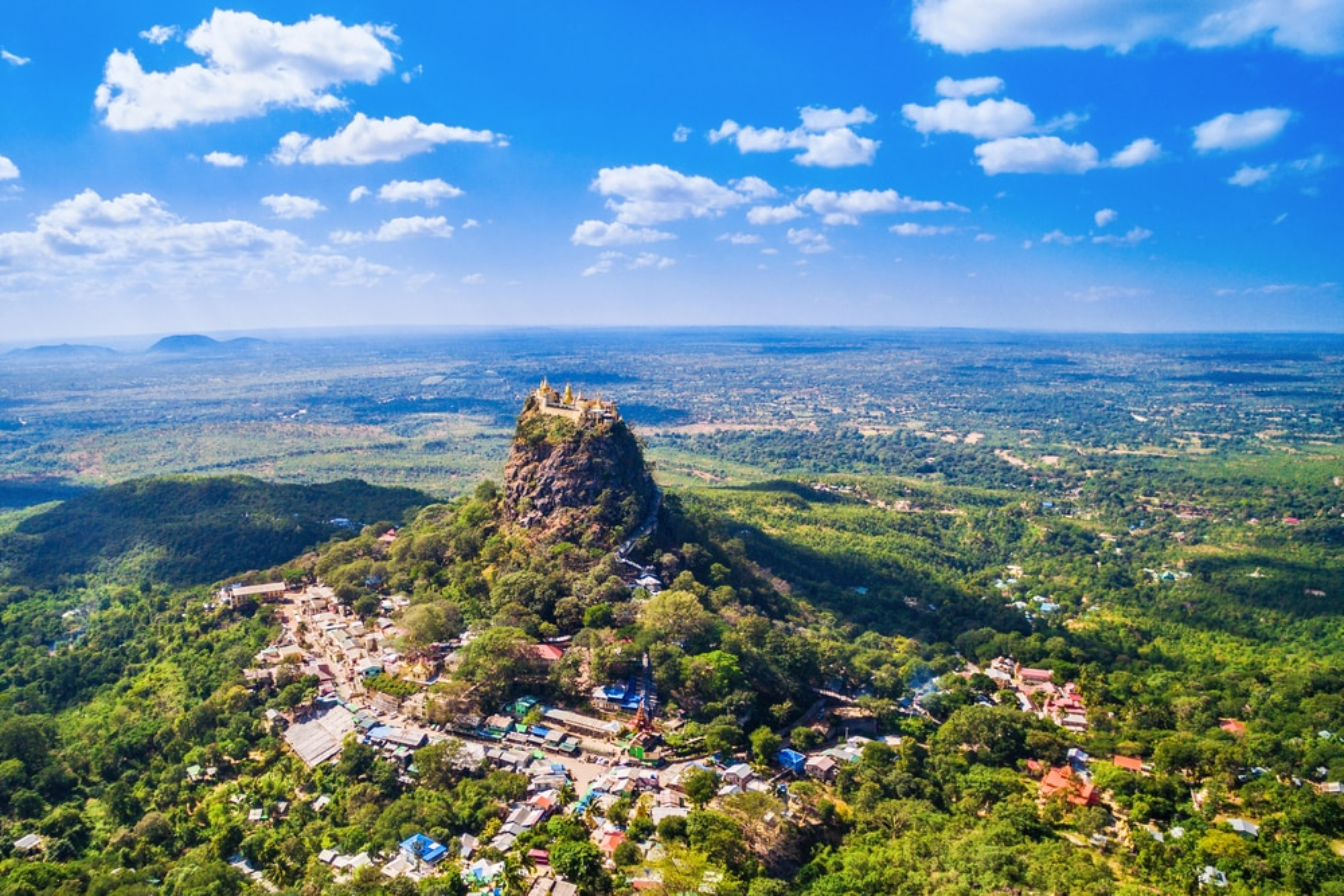 Mont Popa, Birmanie