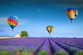 Les 10 plus beaux vols en Montgolfière en France