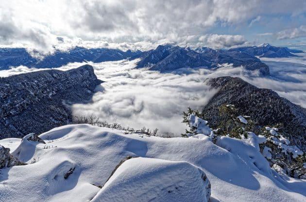13 randonnées en raquettes à faire dans les Alpes