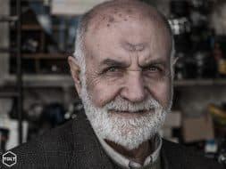 Old man portrait Shiraz Iran