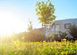Aire de camping-car en France
