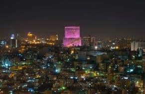 Amman by night