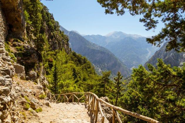 Gorge de Samaria, Crète