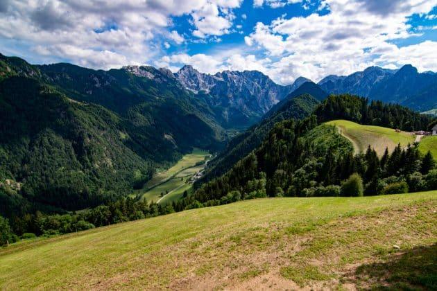Jolie vue en Slovénie