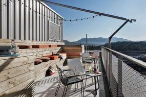 Appartement design avec rooftop