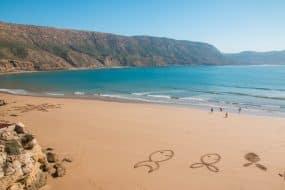 Magnifique vue sur la plage d'Imsouane