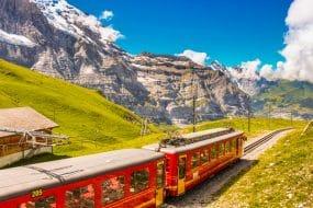 train Jungfraubahn