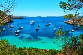 Idées d'itinéraires en bateau depuis Ibiza