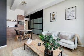 Appartement moderne à côté de la gare