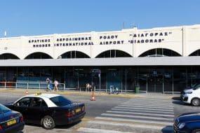 Transfert entre l'aéroport de Rhodes et le reste de l'île
