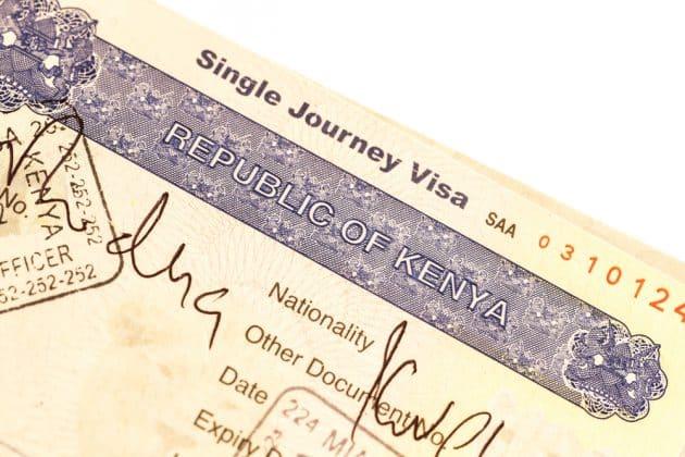 Comment obtenir un visa pour le Kenya ?
