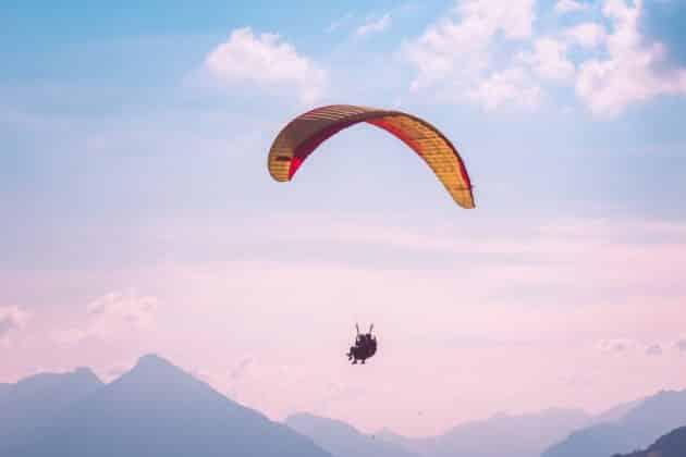L'alternative : vol parapente en tandem au-dessus de Interlaken