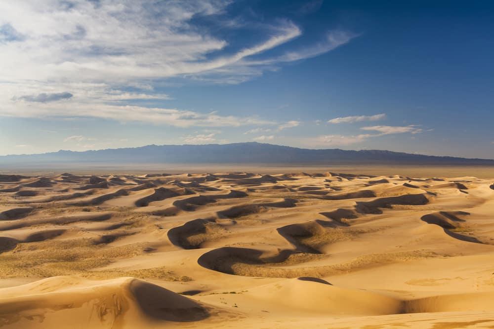 Plus grands déserts au monde : Désert de Gobi