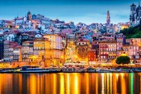 La nuit à Porto