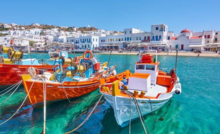 location bateau mykonos - balades bateau athènes