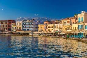 port venitien la canee grece